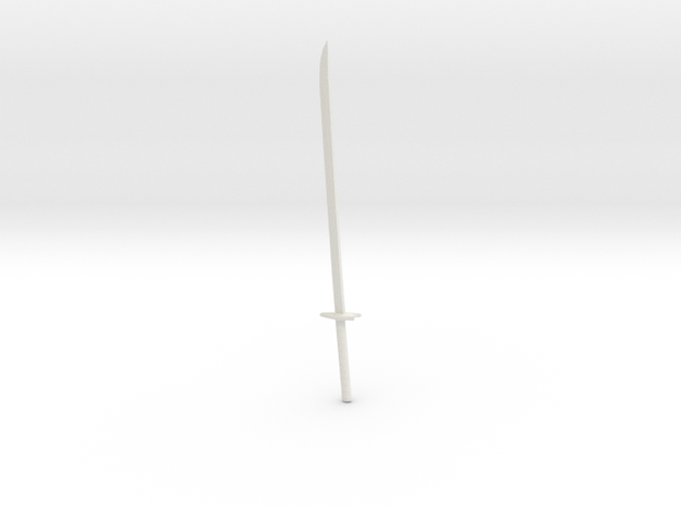 Katana13 in White Natural Versatile Plastic