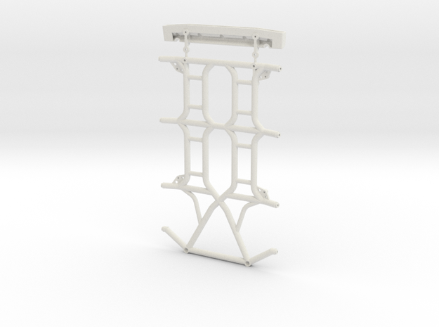 Axial JK 4dr Roof Kit 3d printed