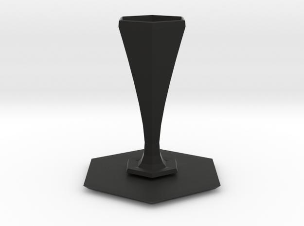 peel vase 3d printed