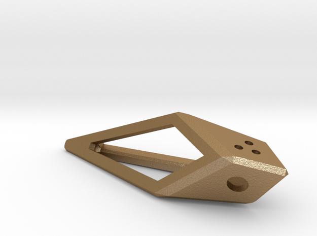 d3 hollow kite die 3d printed