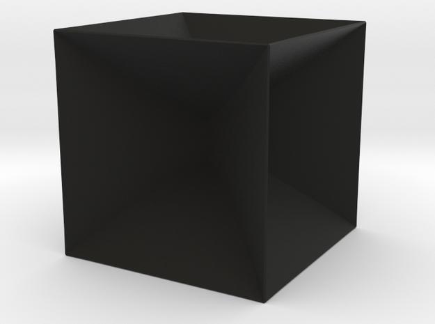 Cube frame soap film 3d printed