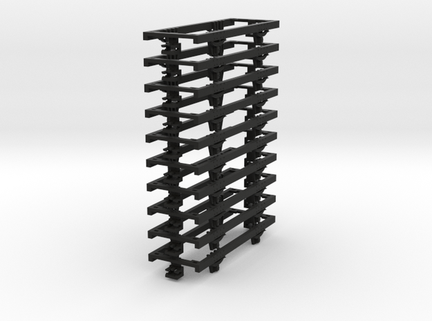 OO9 underframe (long) 10 pack 3d printed
