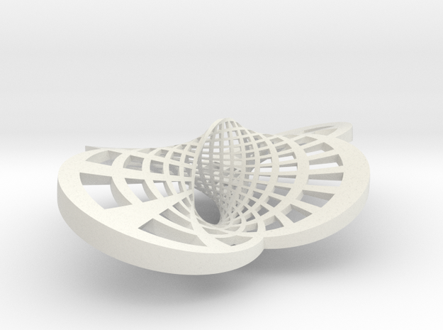 Round Möbius Strip (Large variant) 3d printed