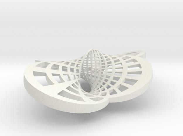 Round Möbius Strip (Large variant) 3d printed