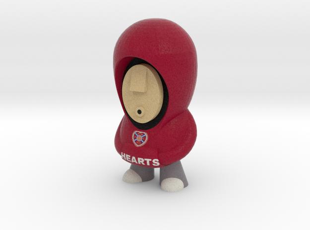 Hearts Hoodie 3d printed
