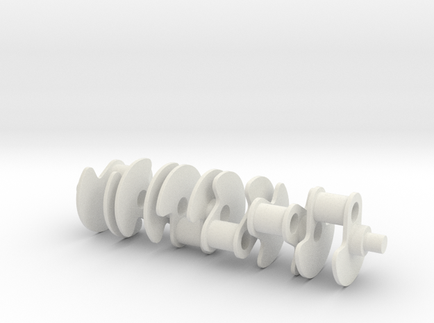 [W12 1:5 Scale Engine] Crankshaft 3d printed
