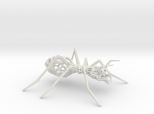 Ant in White Natural Versatile Plastic