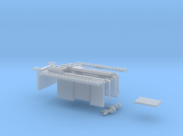 Zubehör AT3 mit Dach / Kragen in Smooth Fine Detail Plastic