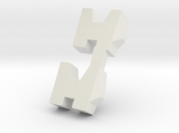 hazard shoulders in White Strong & Flexible