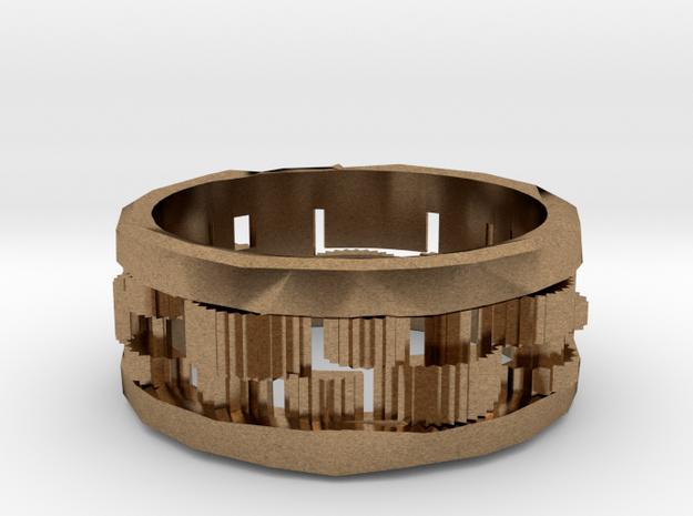 Cog ring: size 8 (US) Q (UK) 3d printed