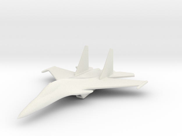 1/285 (6mm) SU-30  in White Strong & Flexible