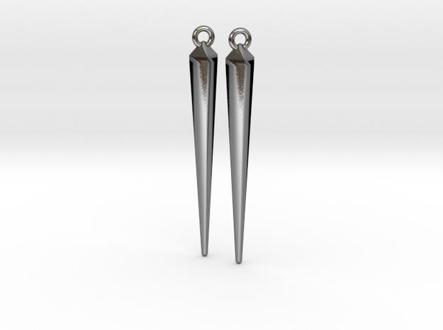 spike earrings 3d printed