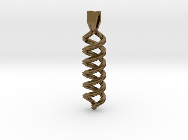 Pendant Infinity 3d printed