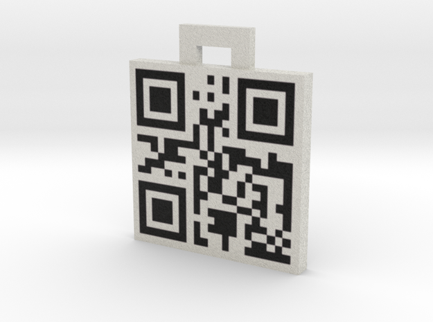 QRCode -- sms: 8479735665 3d printed