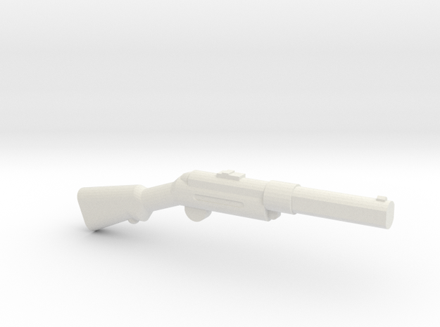 Bergmann MP 18-1 in White Natural Versatile Plastic