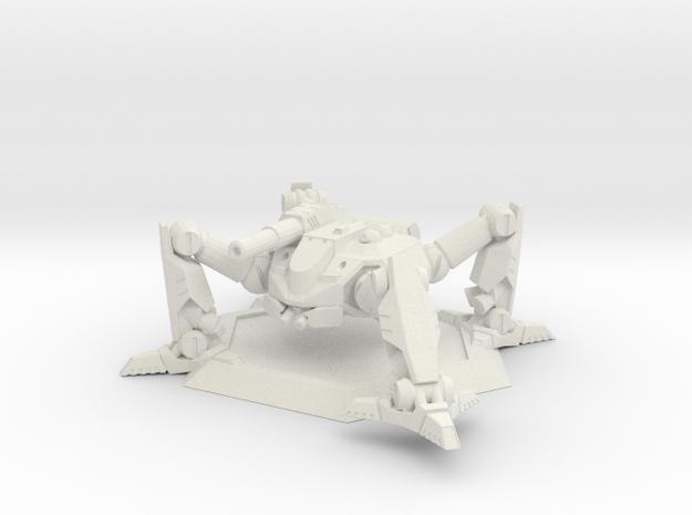 Mecha- Arachnid II (1/285th) in White Natural Versatile Plastic