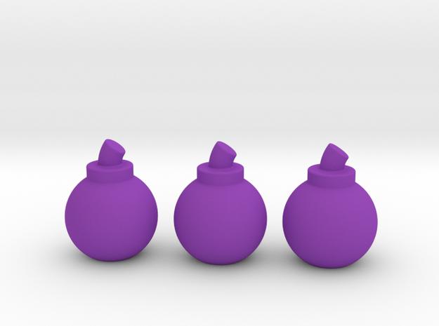 Bombs (3 Pack) 3d printed