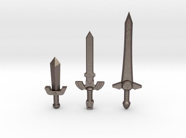 Sword Pack I 3d printed