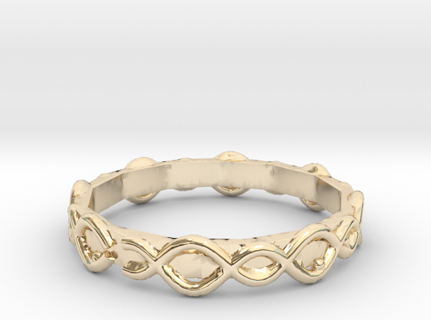 Lucid Ring - Sz. 5 in 14K Yellow Gold