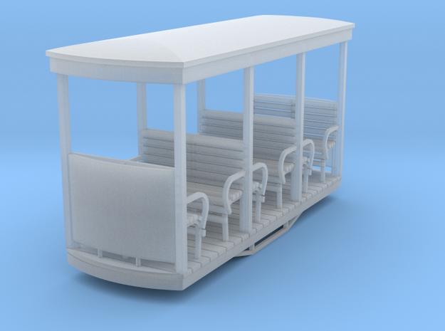 55n9 Open bogie coach -  open end 3d printed