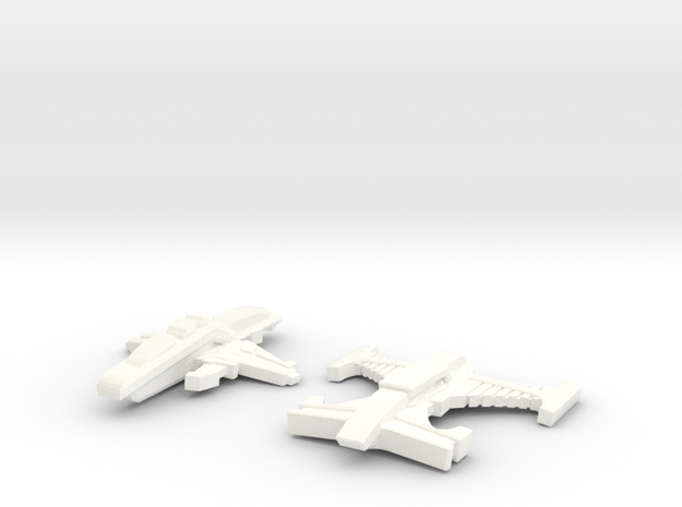 Tuvorian Ships 3d printed