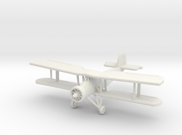 1:200 Fairey Swordfish in White Natural Versatile Plastic