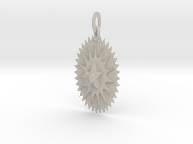 Ice Star Pendant 3d printed