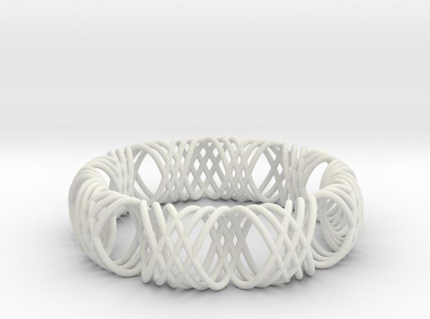 bracelet spirals 1 3d printed Description