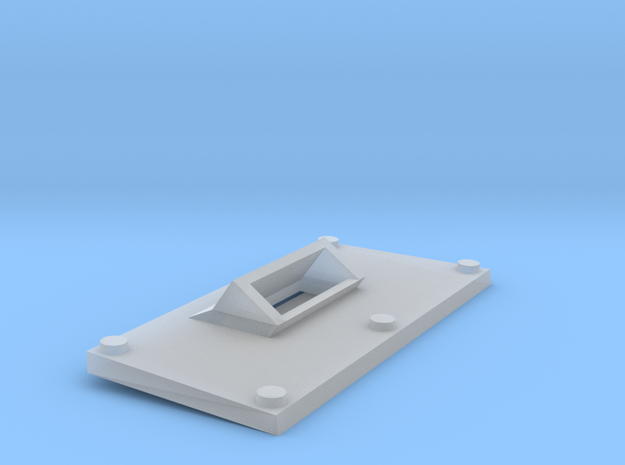 Simple alt front plate for goblin tank 3d printed