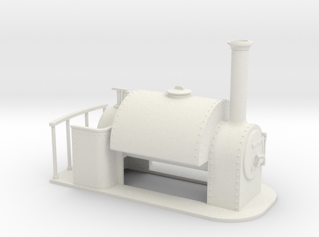 Gn15 Saddle tank 3d printed