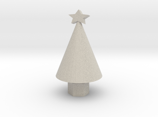Xmas Tree small 3d printed