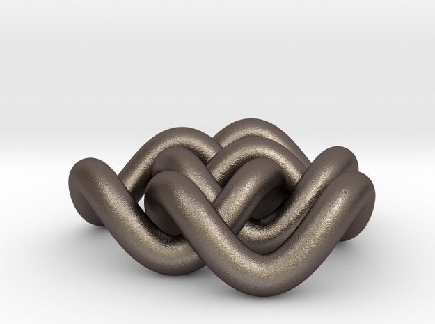 Borromean 6cm, thicker 3d printed
