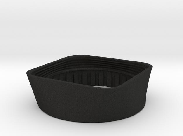 Lens Hood - 90mm f6.8 Angulon in Black Acrylic