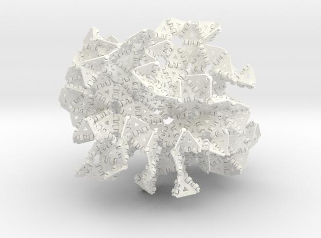 {3,7} radius 4 3d printed