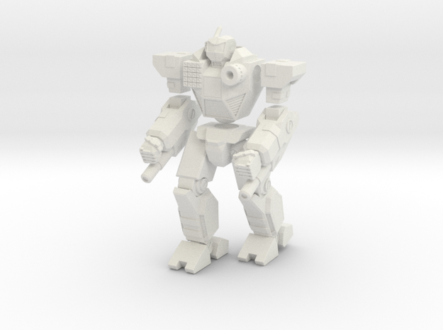Mecha- Odyssey- Uranus (1/285th) Multi-Part in White Natural Versatile Plastic