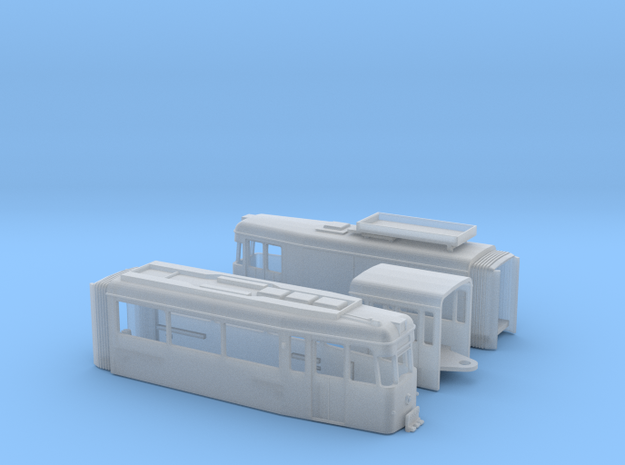 Arbeitstriebwagen Gotha G4-67 Erfurt in Smooth Fine Detail Plastic