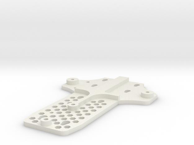 Support FPV Phantom Dji 1 in White Natural Versatile Plastic