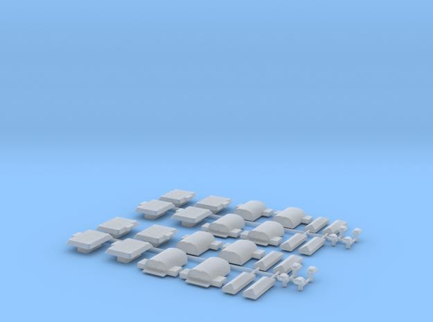 SpoorObjecten (H0) 3d printed