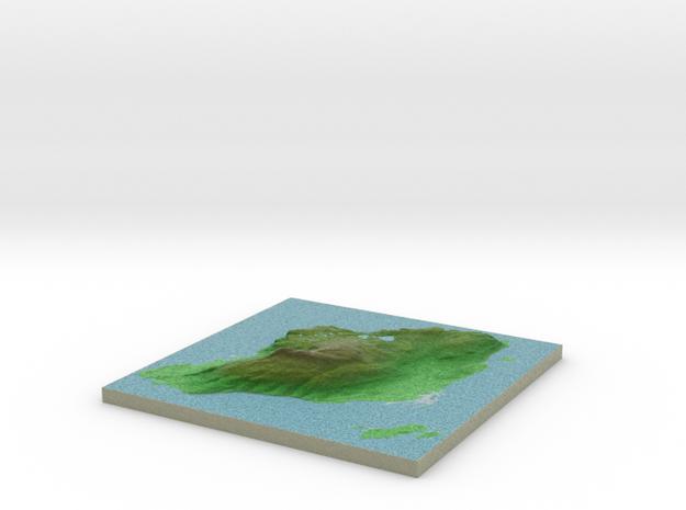 Terrafab generated model Tue Dec 10 2013 22:28:45 3d printed