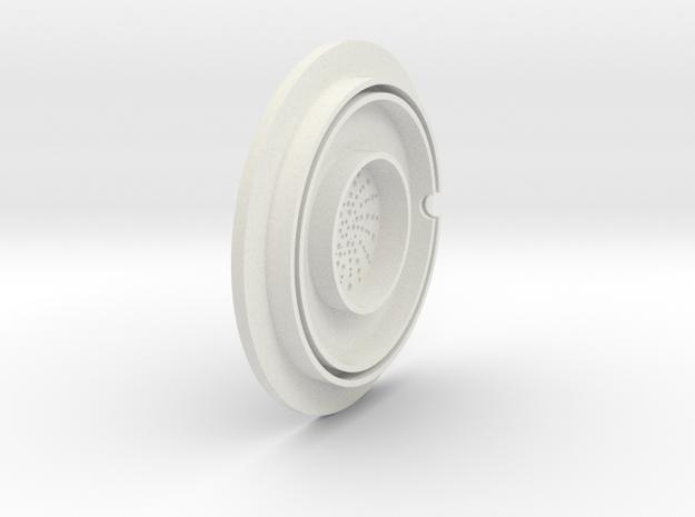 dino earpiece 3d printed