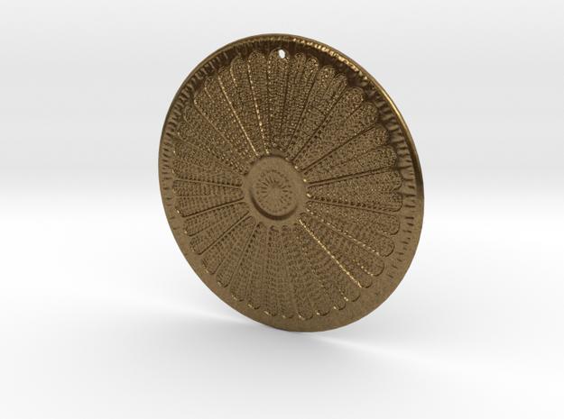 Arachnoidiscus ehrenbergi Diatom ~ 40mm (1.57inch) 3d printed