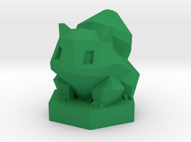 Low-poly Ivysaur With Stand