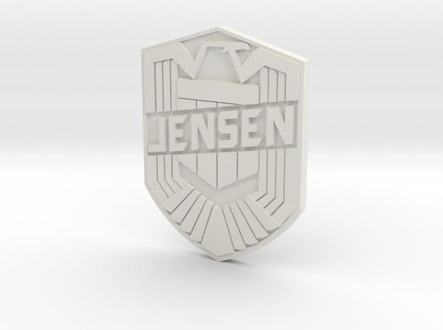 Jensen Custom in White Strong & Flexible