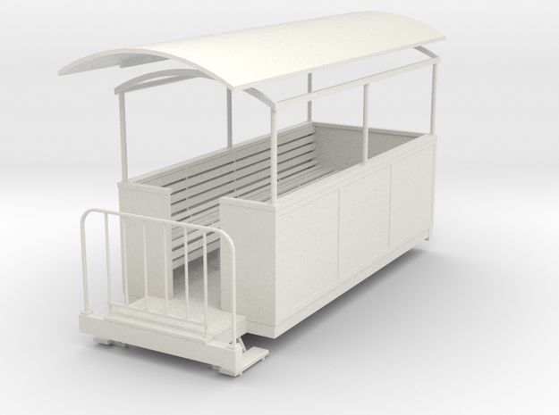 Gn15 semi-open coach 3 in White Natural Versatile Plastic