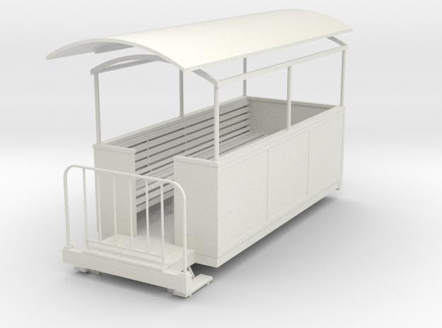 Gn15 semi-open coach 3 3d printed