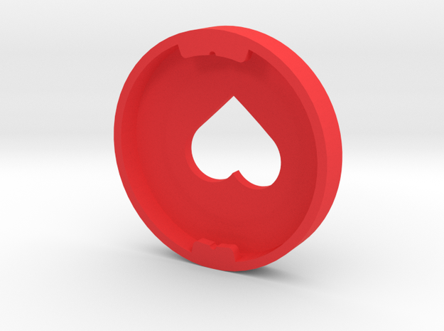 Heart Ear Bud Cover for GLASS 3d printed