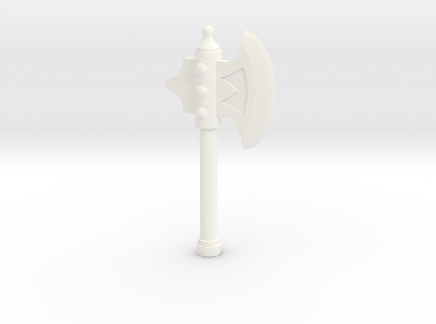 A. Half Axe in White Strong & Flexible Polished