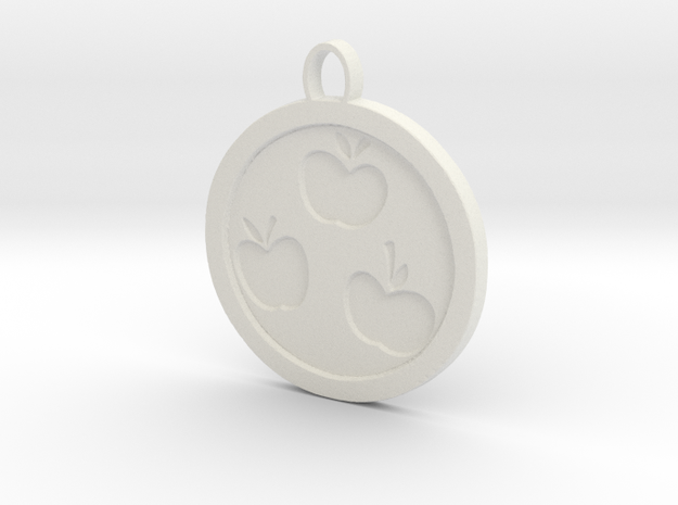 Apple Jack Cutie mark in White Natural Versatile Plastic