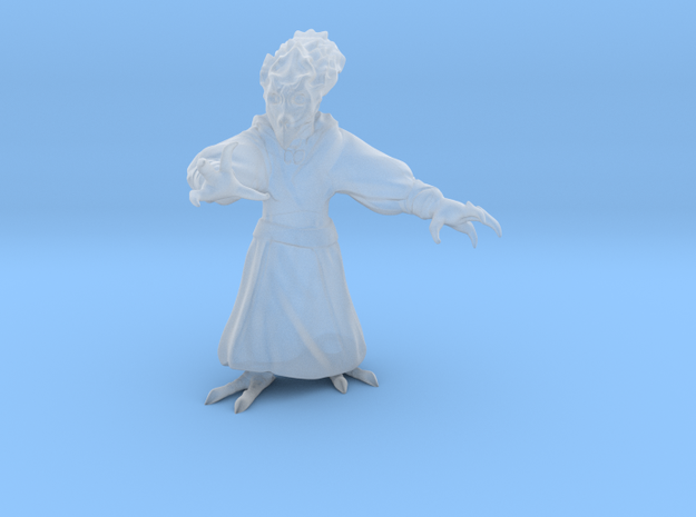 Bird Alien Monk 3d printed