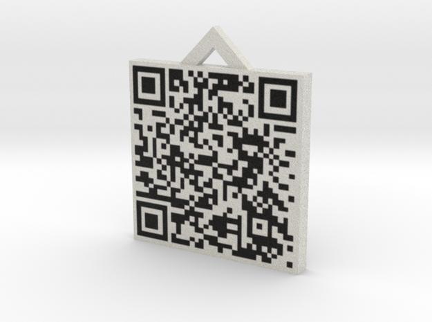 QRCode -- http://www.qr-koodi.net/uploads/1/8/1/2/ 3d printed